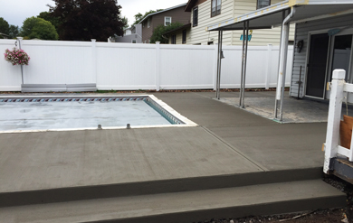concrete patio and pool residential services in syracuse ny