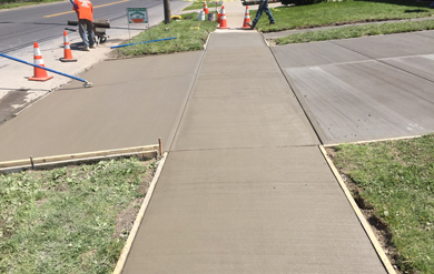 sidewalk repair syracuse ny