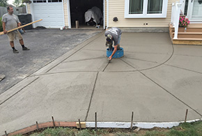 concrete residential walkway grasshopper services
