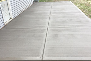 grooved residential patio grasshopper syracuse