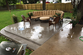 Stamped concrete patio deck syracuse ny