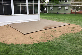 best concrete patio company syracuse new york grasshopper services