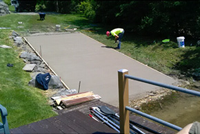best concrete patio residential syracuse ny grasshopper services