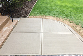residential stamped concrete walkway syracuse ny grasshopper services